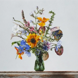 Still life with wild flowers - August