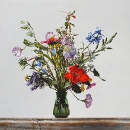 Still life with wild flowers - September