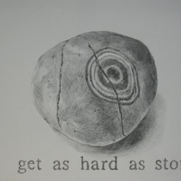 Get as hard as stone