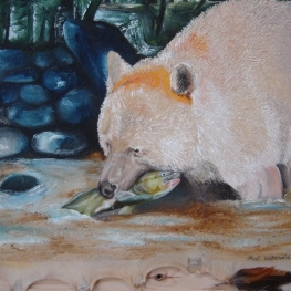 Canadese White Spirit Bear