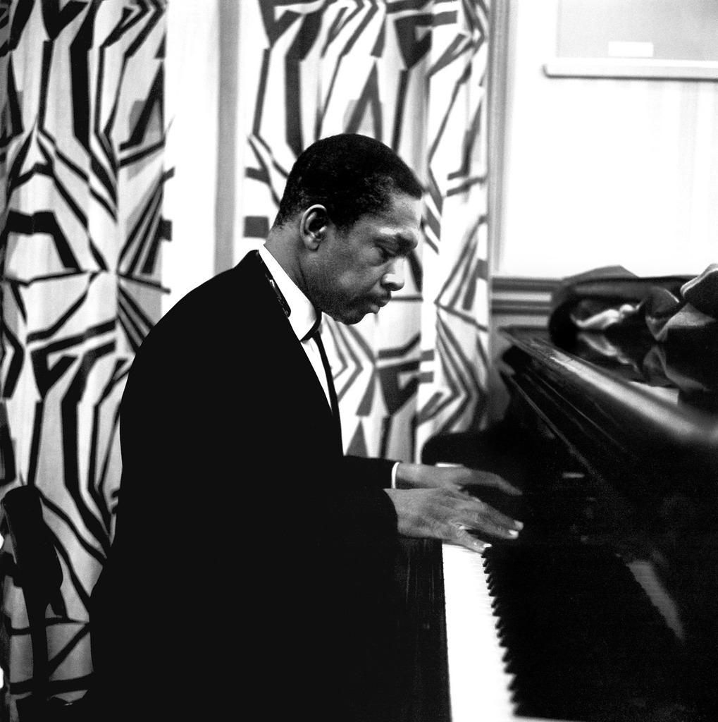 John Coltrane at the piano