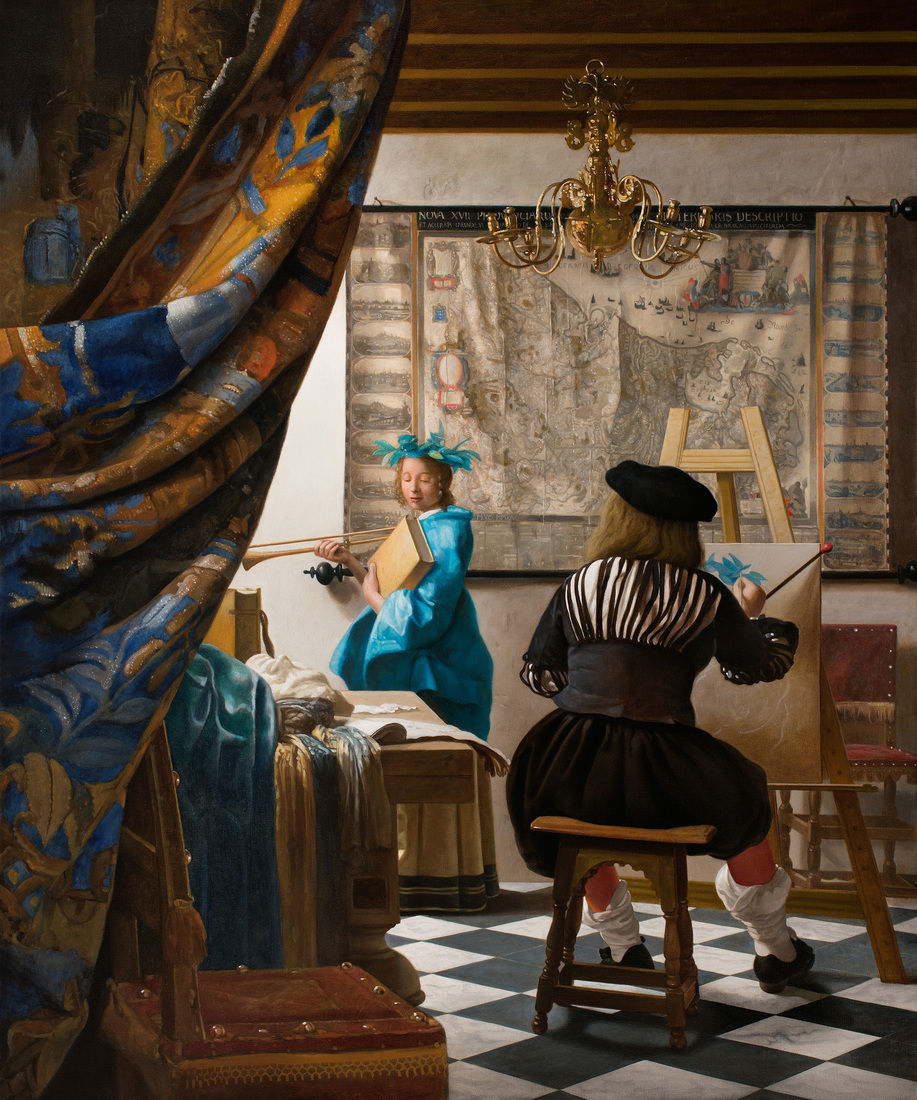 The Art of Painting - J Vermeer by mvc