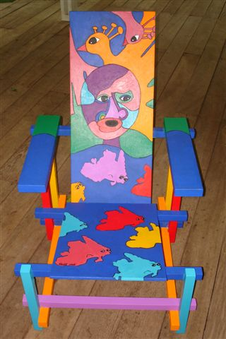 Chair with Ellisart