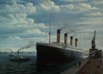 Easter Sunday, April 7, 1912: The Titanic remains tied up at Berth 44. The White Star Line has used Southampton for its express passenger service since 1907. Tuesday, April 9, 1912: This will be Titanic's final full day in Southampton...