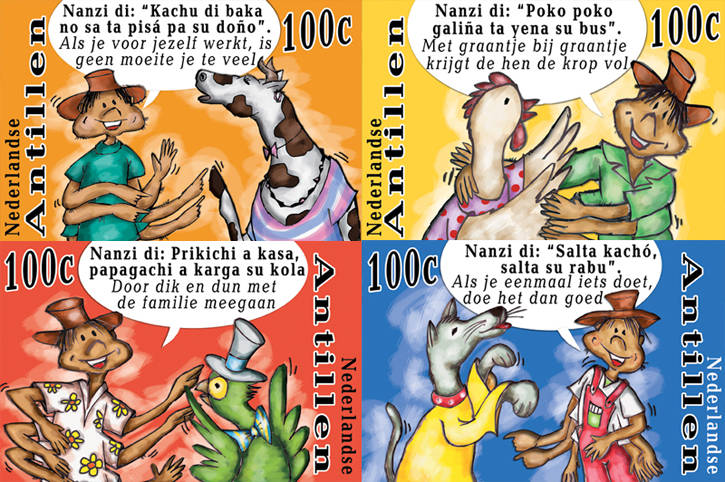 Cartoon Stamps 2007