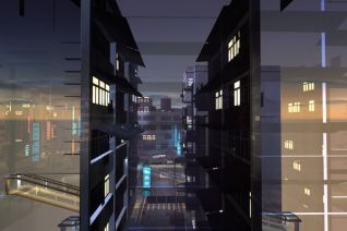 City anatomy - Construction site B -