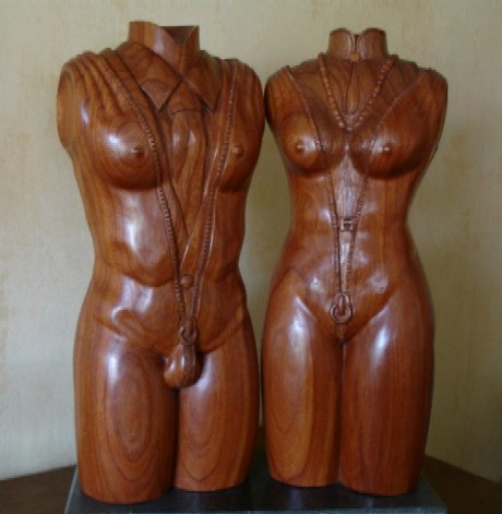 Strip-koppel - Stripping couple