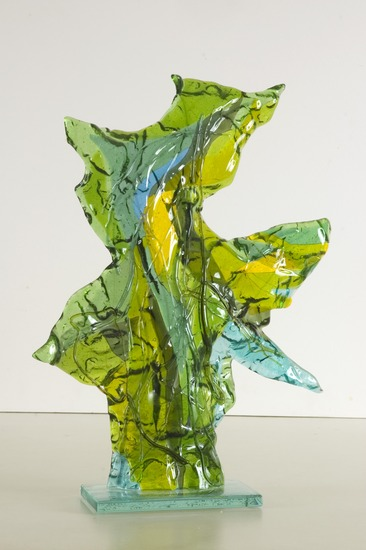 'Spirit of the woods' - glass sculpture