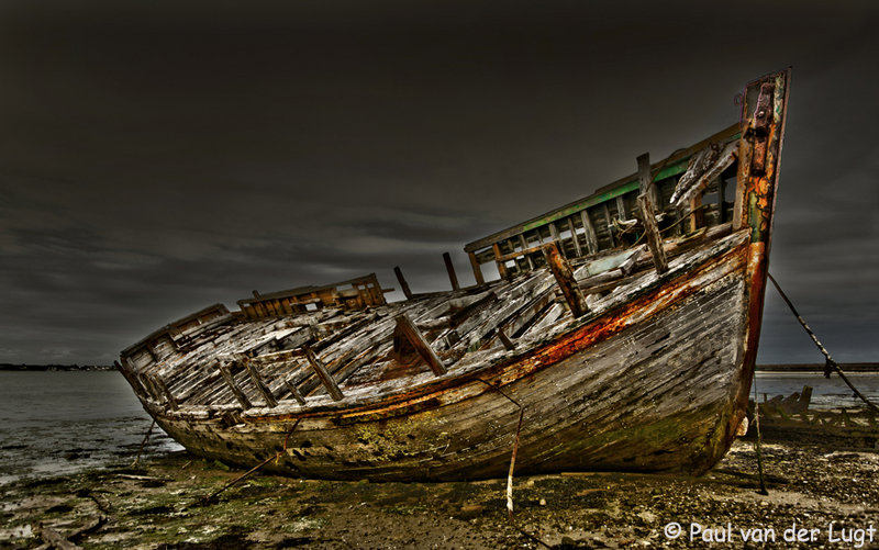 Franse boot in HDR
