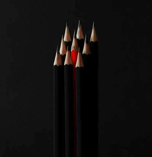 Red pencil I