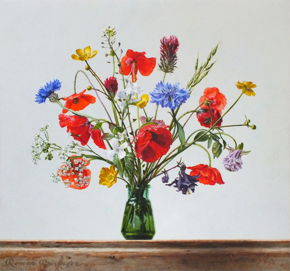 Still life with wild flowers-May