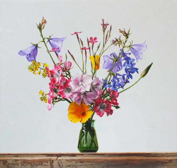 Still life with wild flowers-June