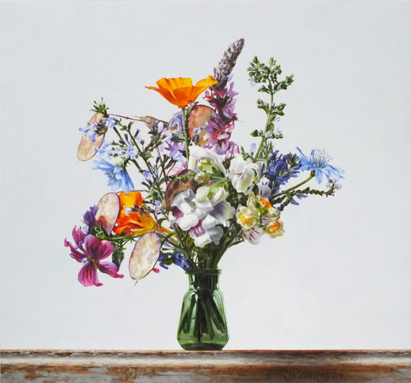 Still life with wild flowers - July