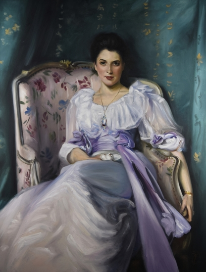 Lady Agnew, study after John Singer Sargent