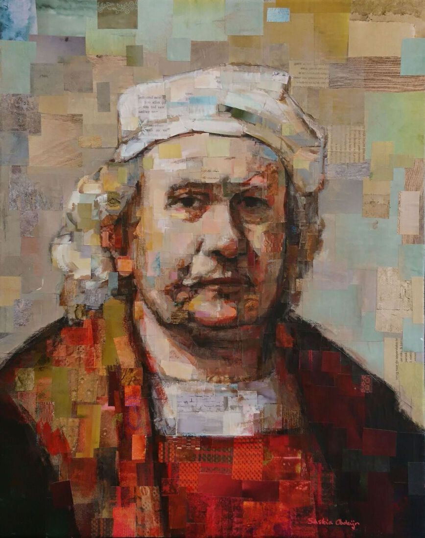 Collage Rembrandt