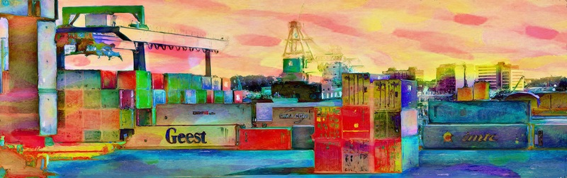 Containers vibrant