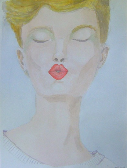 Aquarel P.3 DAME in de make-up