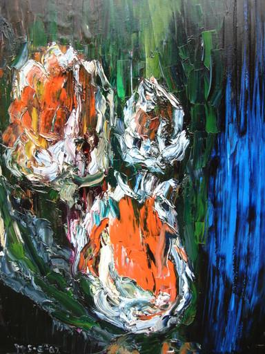 Extreem Marian Klein Gebbinck - Het schilderen met paletmessen @AF98
