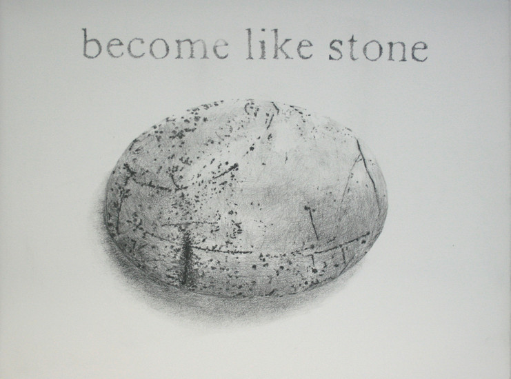 Become like stone