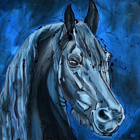 Okke: The Blue Horse