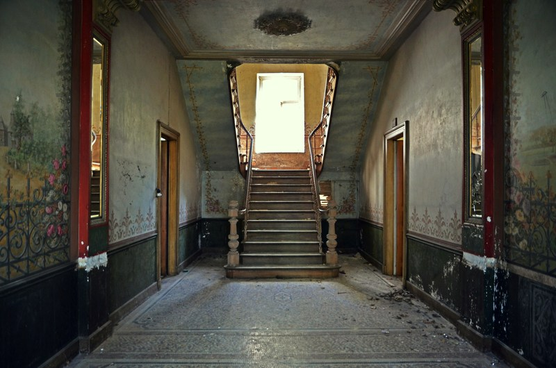 stairway of the château