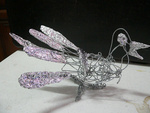 Wire artwork: Bird