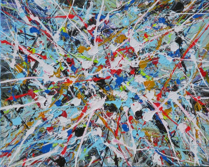 NEW Action Painting 25 (143 vh 15)
