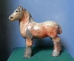 Horses that have been raku fired