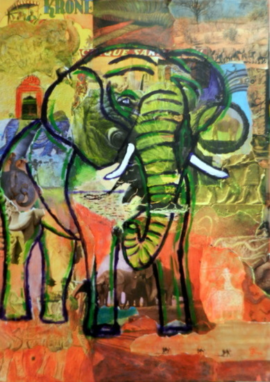 collage olifant 1