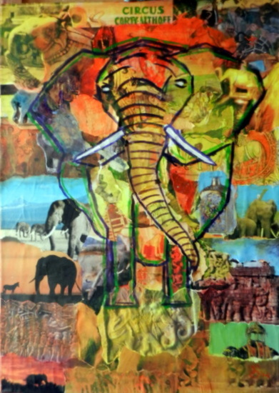 collage olifant 2