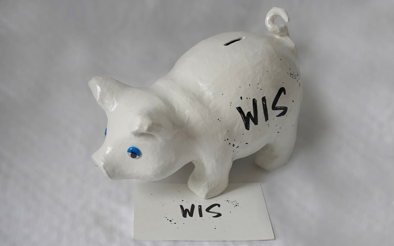 Original & personalized piggy bank