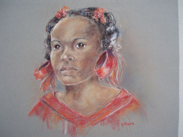 Girl from Curacao