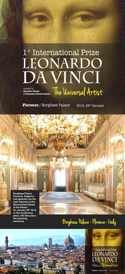 International Prize Leonardo Da Vinci 2015