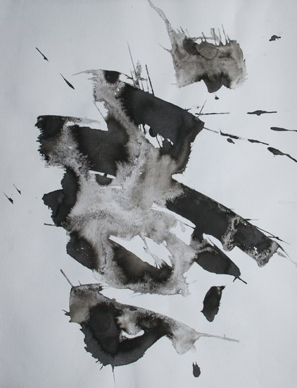 Indian Ink Abstract 006