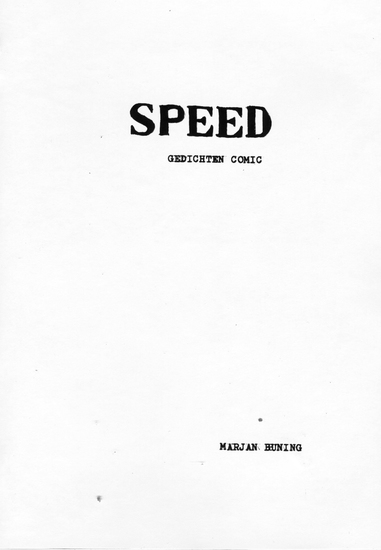 SPEED (gedichten comic)