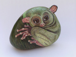 animals painted on rocks