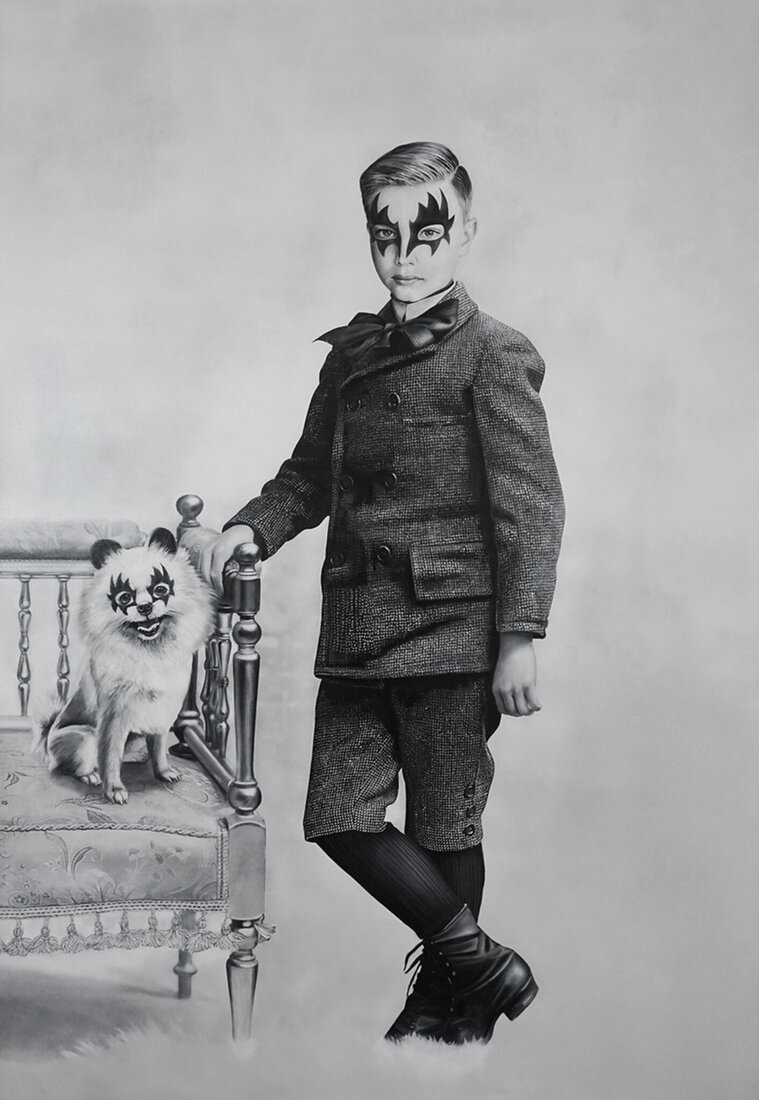 Boy and dog II