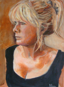 portraits painted from a photo