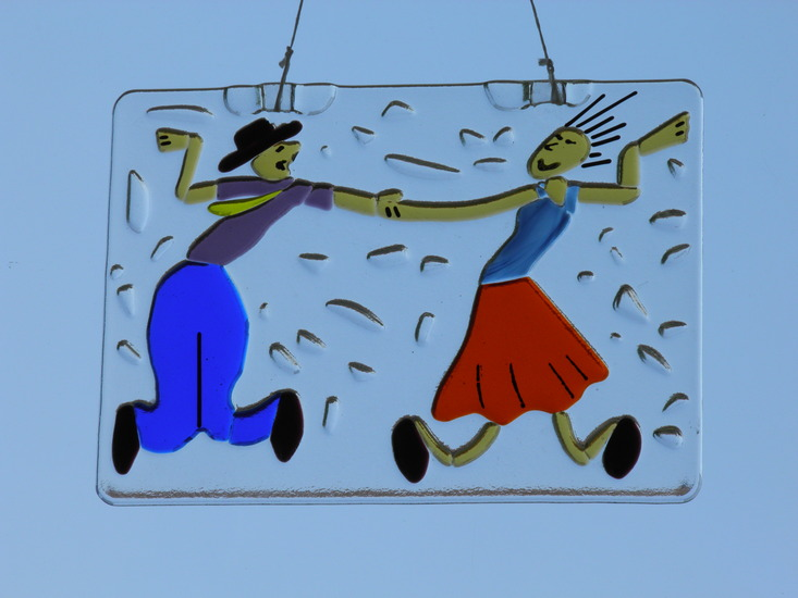Swinging couple