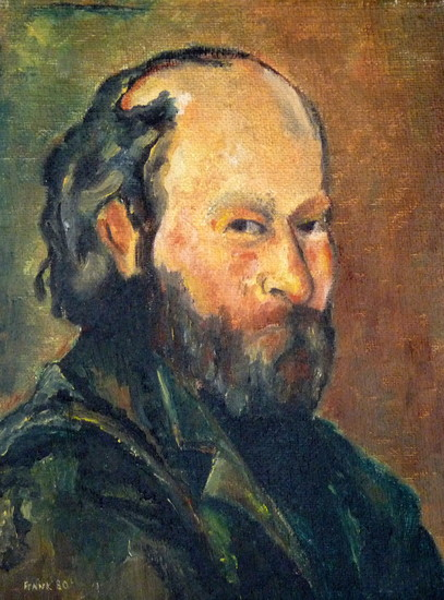 Paul Cézanne zelfportret (copy)