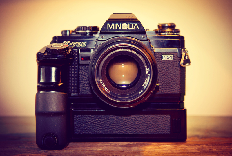 Old School | Minolta X-700 mps with Minolta motordrive 1