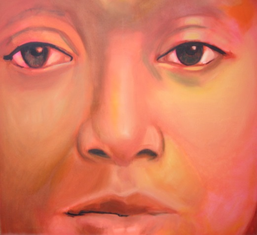 Portret in rood MARQUA237 € 175