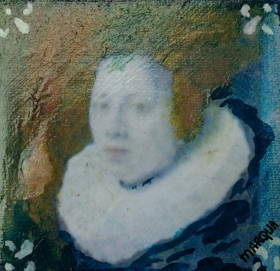 Portret vrouw Rembrandt