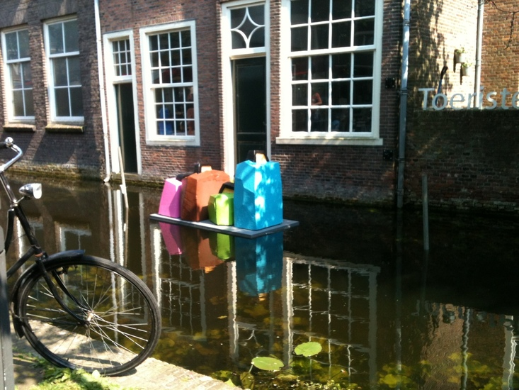 Koffers in Delft