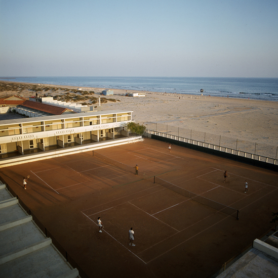 Tennisbaan Algarve Portugal