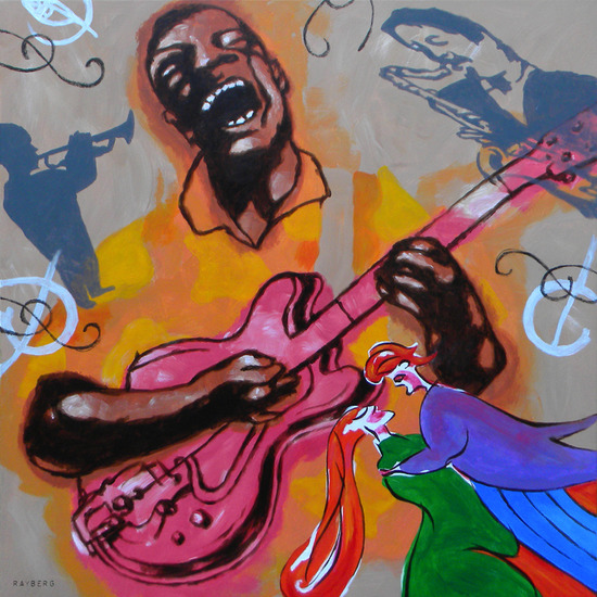 Graffiti Guitar (Street Art)