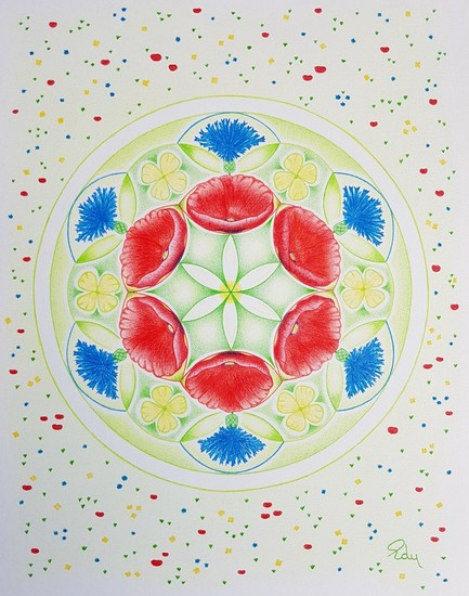 Flower of Life Zomer