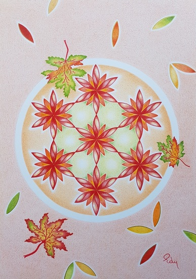 Flower of Life Herfst