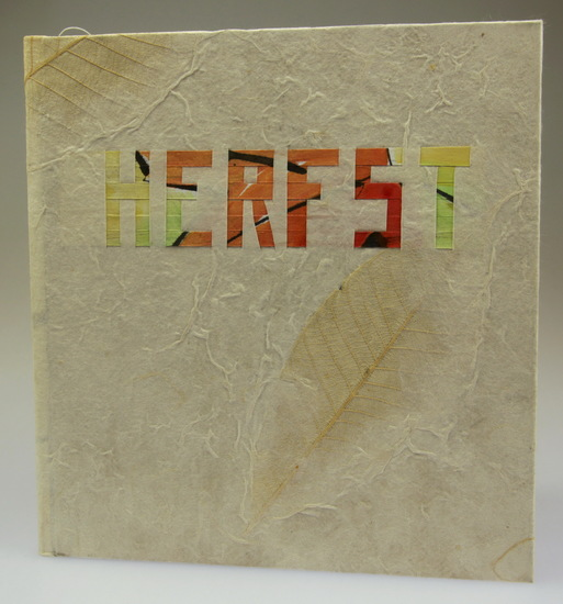 Herfst -art book