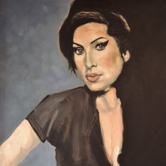 Portret van Amy Winehouse